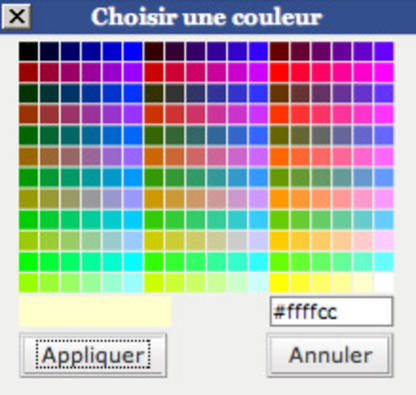Typographie En Couleur Palette De Wordpress Vs Palette