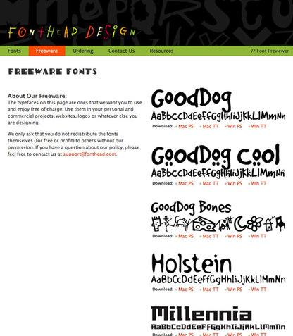 Fontheaddesign