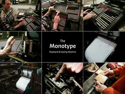 Monotypecasting